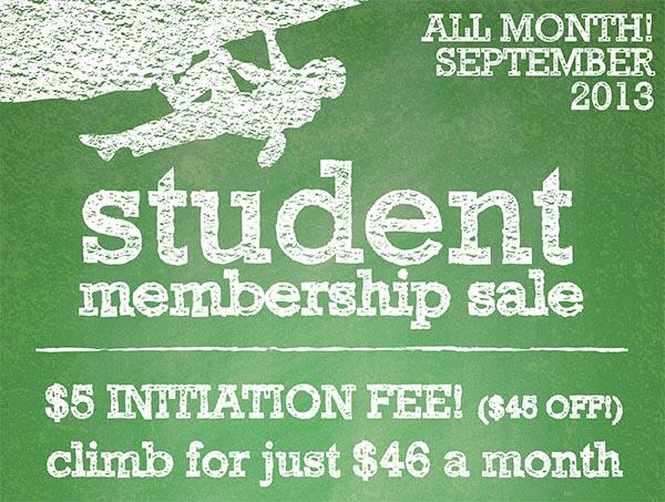 2013 Student Membership Sale