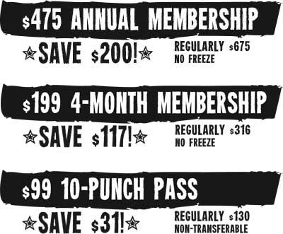 2013 Membership Sale Deals