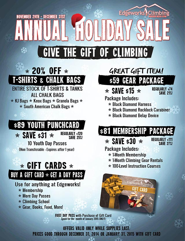 2014 Holiday Flyer