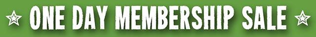 Membership Sale Banner