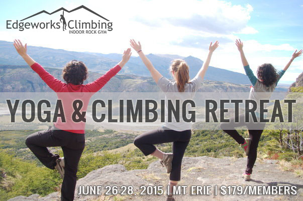 yoga climbing retreat