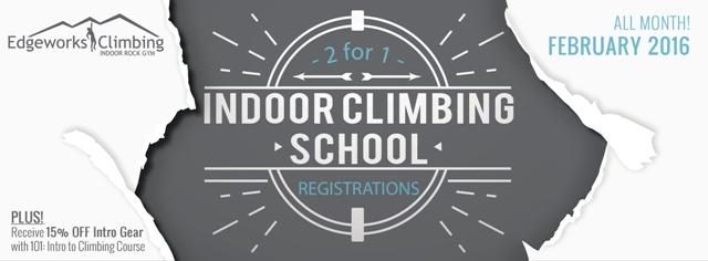 Climbing School Blog Banner